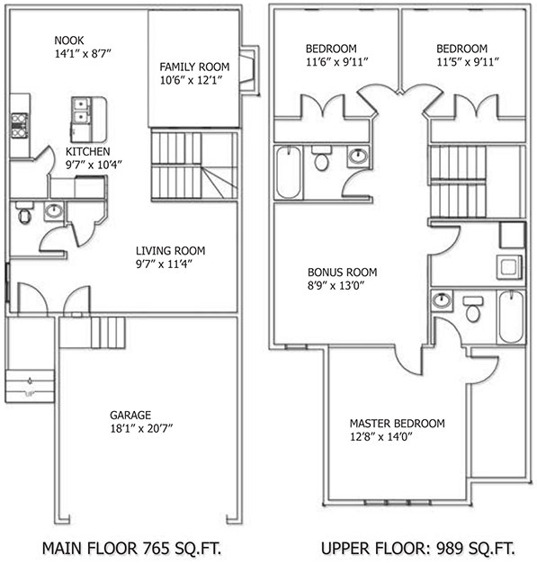 Klair Custom Homes: Aspen Floorplan
