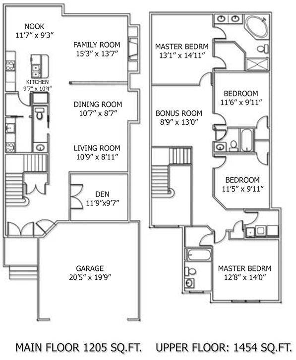Klair Custom Homes: Augusta Floorplan