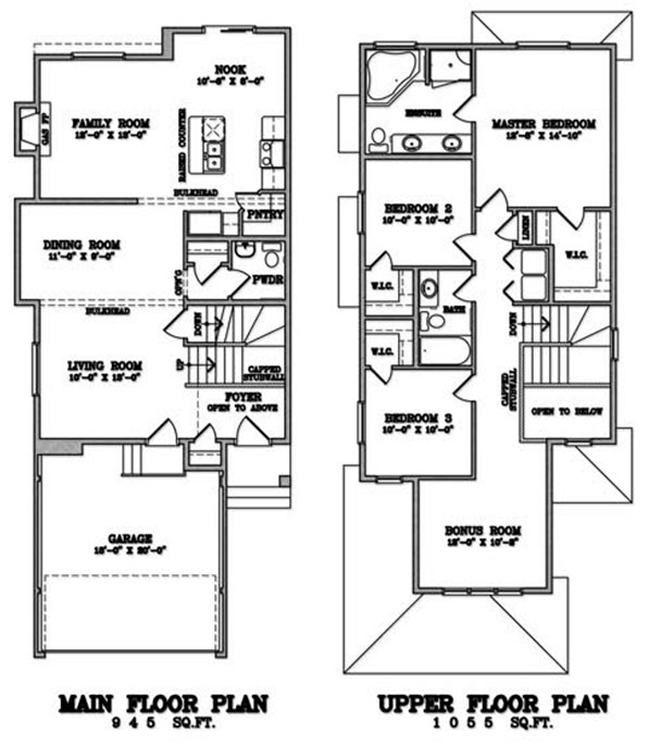 Klair Custom Homes: KCH 101 Floorplan