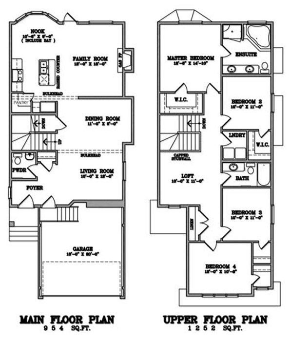 Klair Custom Homes: KCH 102 Floorplan