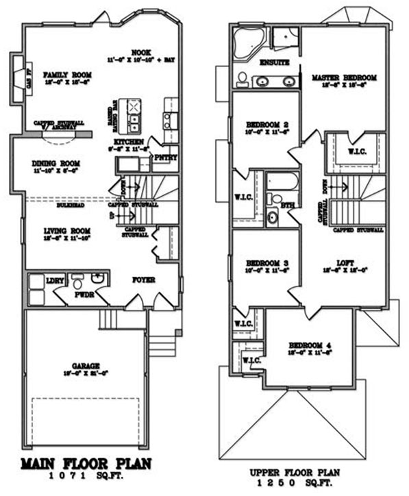Klair Custom Homes: KCH 103 Floorplan