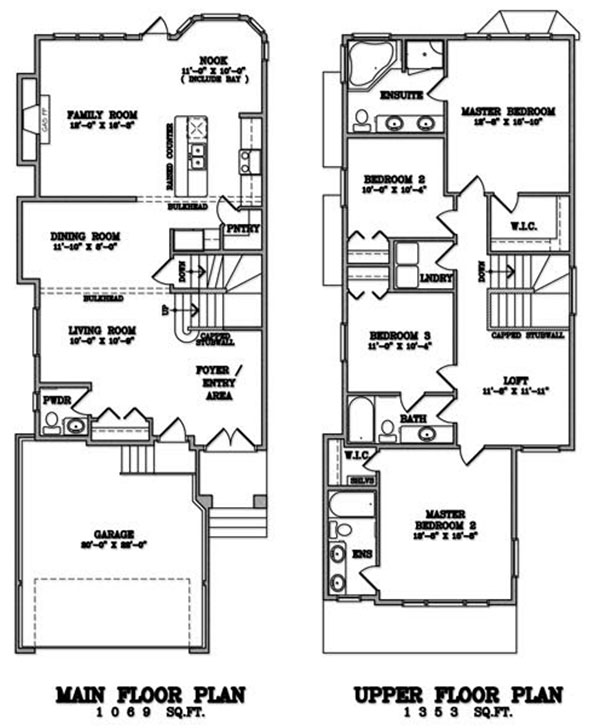 Klair Custom Homes: KCH 104 Floorplan