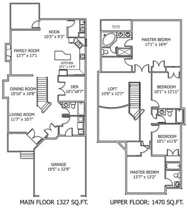 Klair Custom Homes: Madera Floorplan