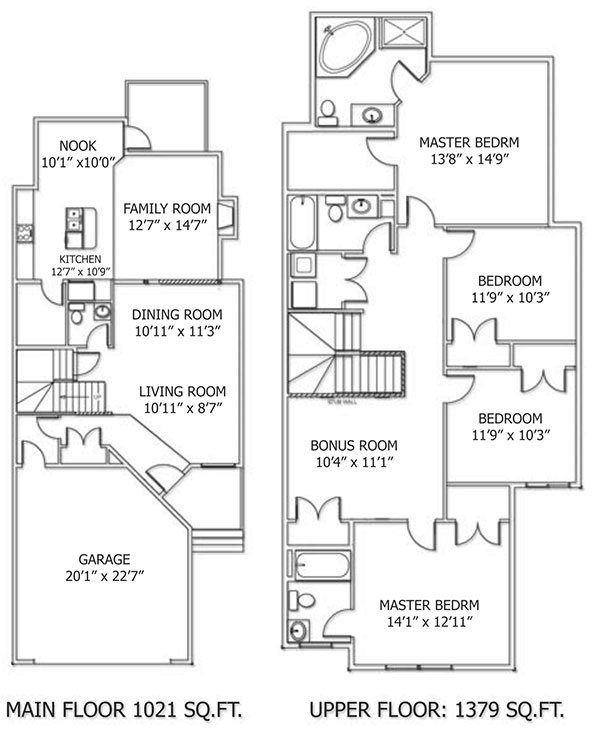 Klair Custom Homes: Milan Floorplan
