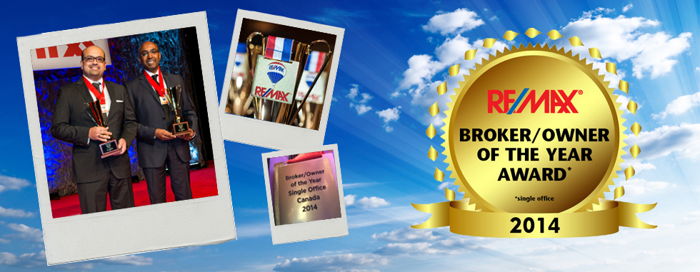 RE/MAX Excellence: Broker/Owner of the Year Award 2014