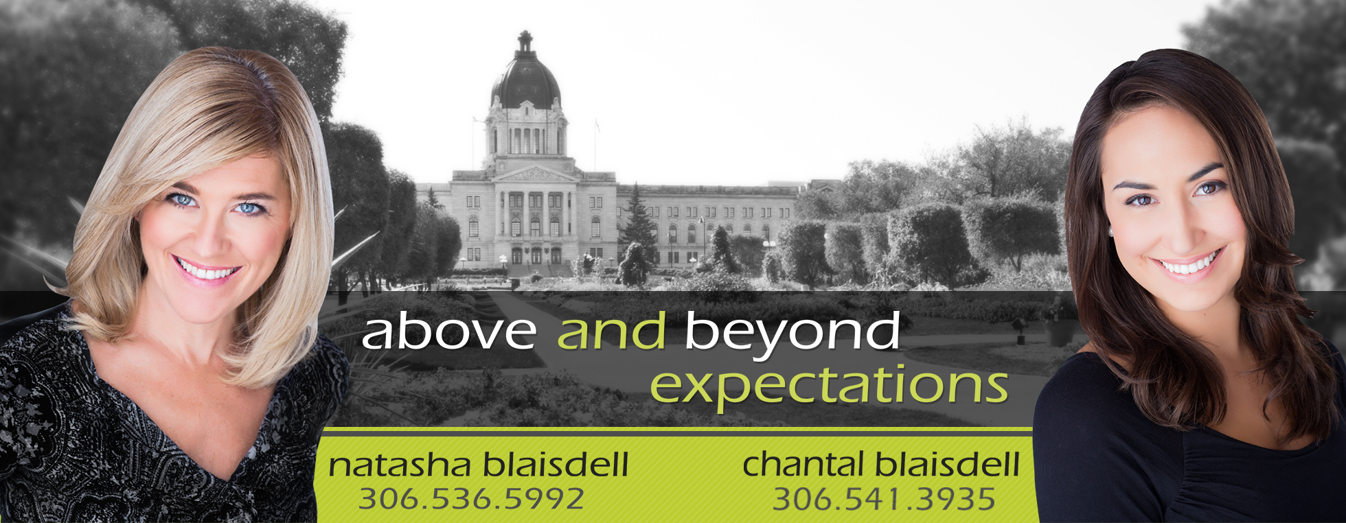 Natasha and Chantel Blaisdell - Regina Real Estate