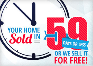 Prince George homes sold in 59 days guaranteed banner